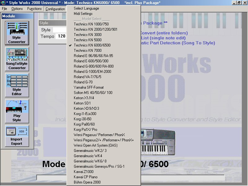 style works 2000 universal 2.4.0.3